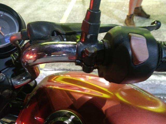 New Chrome Handlebars For Yamaha YBR 2014