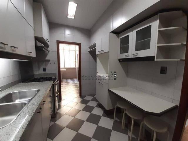 Apartamento com 3 dormitórios para alugar, 130 m² por R$ 3.700/mês - Laranjeiras - Rio de  - Foto 7