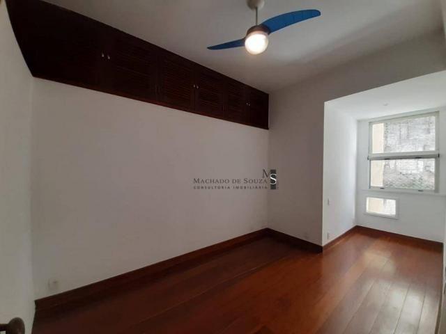 Apartamento com 3 dormitórios para alugar, 130 m² por R$ 3.700/mês - Laranjeiras - Rio de  - Foto 10