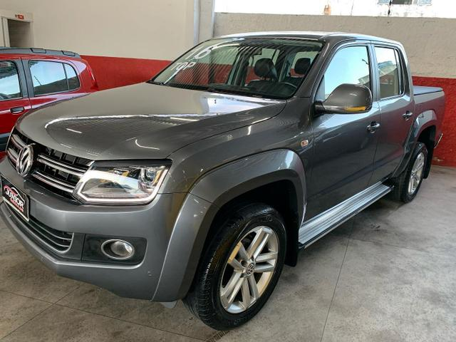 (Junior Veiculos) Amarok Highline Ano:2016 Led - Foto 2