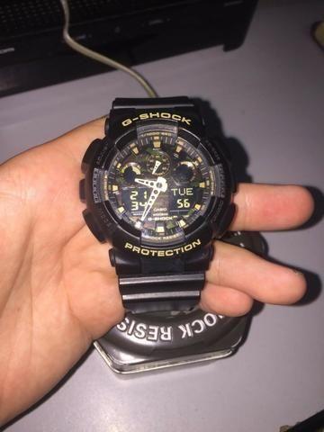 213bd6e89df Relógio G-shock GA-100 cf original - Bijouterias