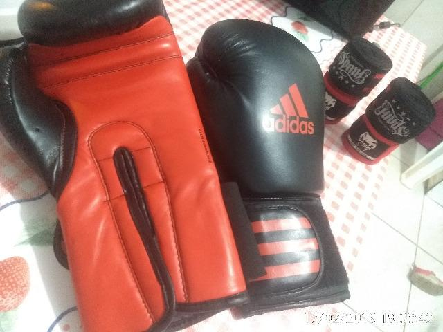 a76ea22ea Luva de boxe adidas 12oz - Esportes e ginástica - Nações