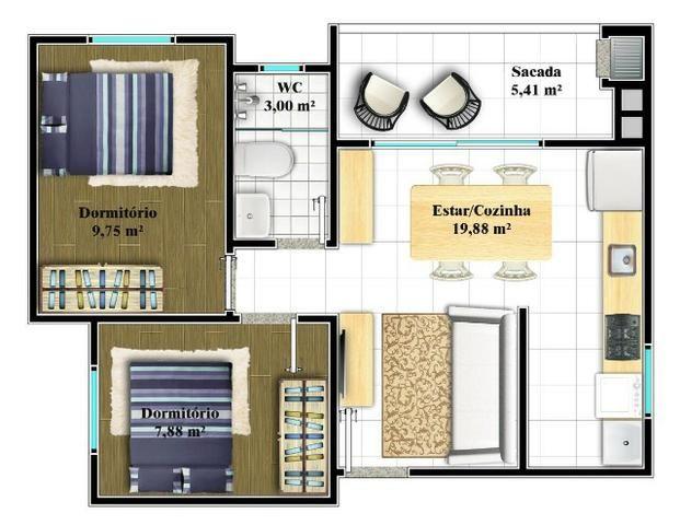 R-2 -165-273 Apartamento para venda com elevador, Costa e Silva Joinville - Foto 5