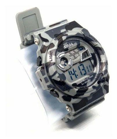 Relógio a prova d'água camuflado  - Foto 4