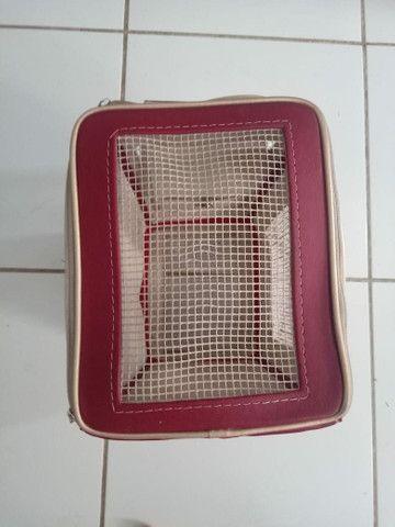 Bolsa São pet de couro  - Foto 4