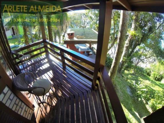 Casa para alugar com 2 dormitórios em Araca, Porto belo cod:213 - Foto 8