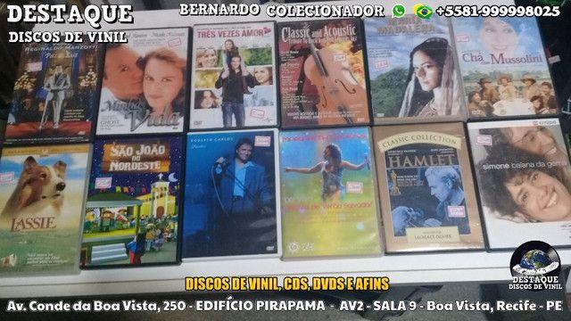 Discos de Vinil, CDs e DVDs, vários preços e gêneros - Foto 2