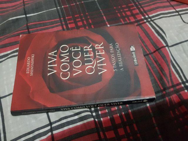 Vendo Livro VIVA COMO VOCÊ QUER VIVER.