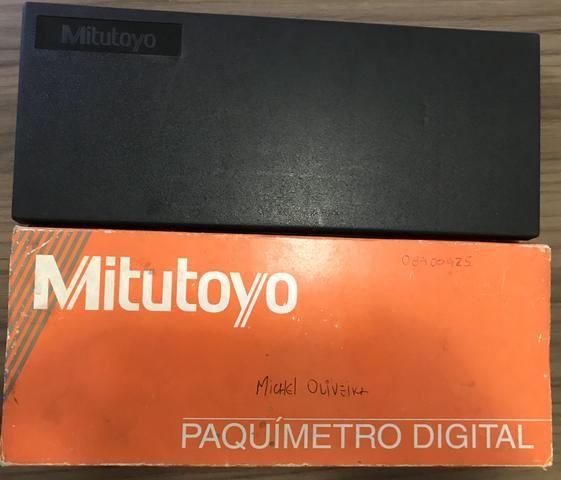 Paquímetro 200mm Digital Mitutoyo - Foto 3