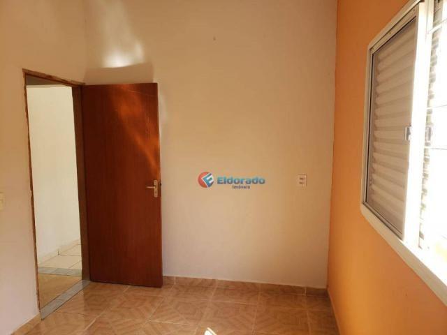 Casa com 2 dormitórios para alugar, 90 m² por R$ 1.200/mês - Parque Gabriel - Hortolândia/ - Foto 10