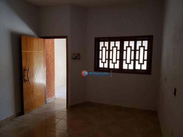 Casa com 2 dormitórios para alugar, 90 m² por R$ 1.200/mês - Parque Gabriel - Hortolândia/ - Foto 3