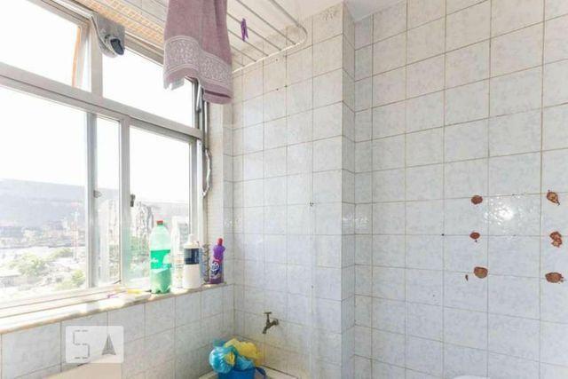 Metrô na porta - Lindo ap 2 quartos (reversível p/ 3),dependência c/ banheiro, reformado - Foto 7