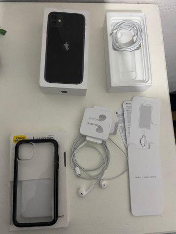IPhone 11 64gb Preto Garantia 2021 - Foto 4
