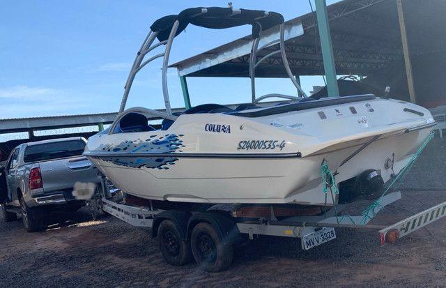 Lancha Jet boat colunna mercury 250 HP