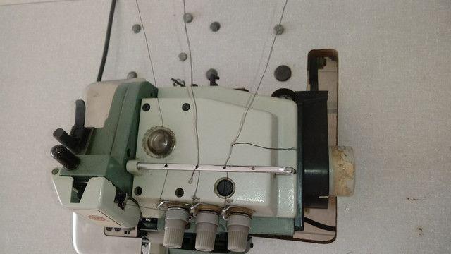 Maquina de costura OVERLOCK INDUSTRIAL COMPLETA - Foto 2