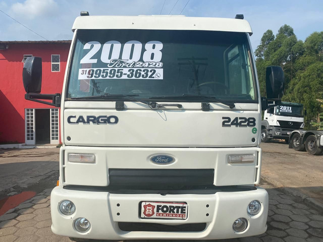 Ford cargo 2428 2008 truck no chassis - Foto 3