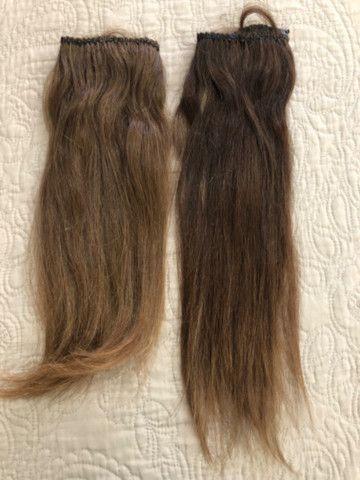 Vendo duas telas de mega hair 43 cm 390 - Foto 2