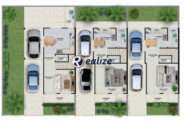 CA00180 Linda Casa Duplex de 2 quartos sendo 2 suítes em Santa Monica - Foto 14
