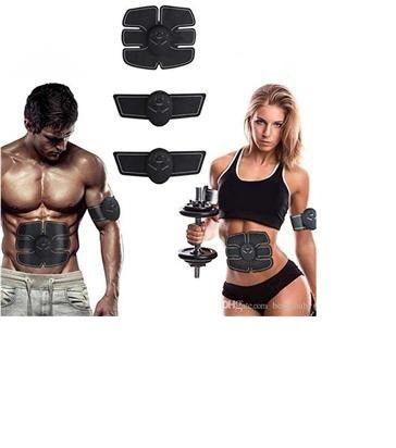 Estimulador Muscular Eletrico Tonificador Abdomen Braço Perna c/ Display