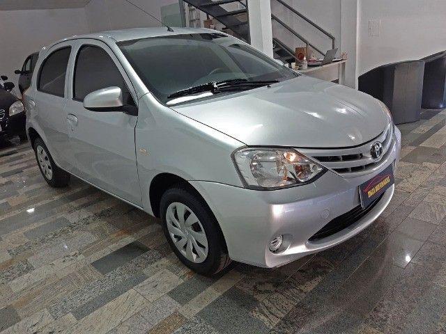 Toyota Etios X 1.3 completo / Multimidia Original / Pneus novos / Ipva Pago - 2016 - Foto 6