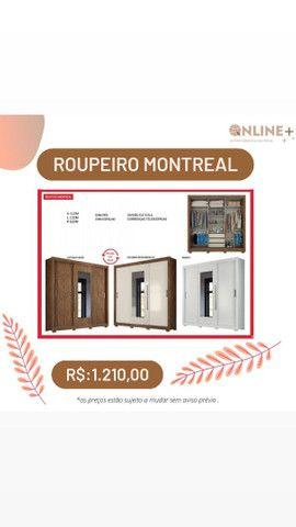 ROUPEIRO MONTREAL PREÇO IMPERDÍVEL OFERTA