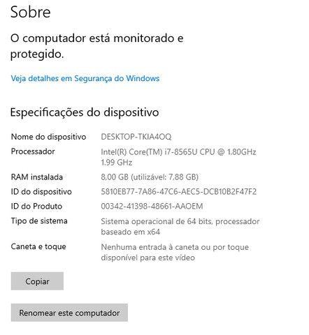 Notebook Lenovo Ideapad S145 i7 8GB - 512 gb ssd  + 1 tb  , 15,6? Nvidea GeForce MX110 2GB - Foto 5