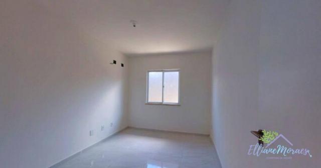 Casa à venda, 89 m² por R$ 238.000,00 - Precabura - Eusébio/CE - Foto 12