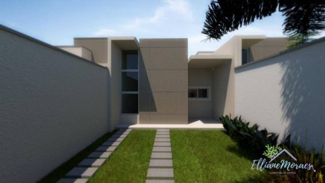 Casa à venda, 89 m² por R$ 238.000,00 - Precabura - Eusébio/CE - Foto 16