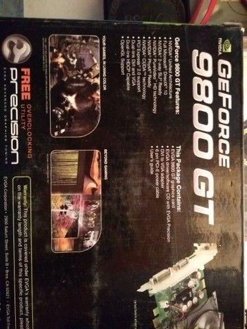 Placa de vídeo geforce 9800gt - Foto 2