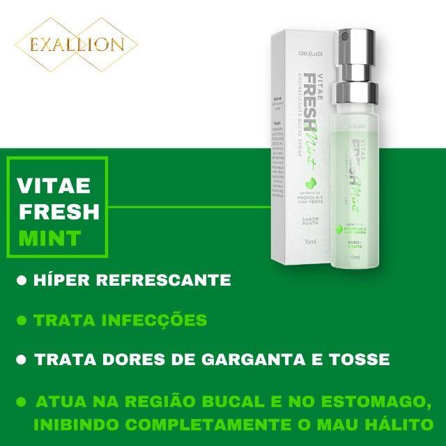 Aromatizante Bucal Extra Forte ''Fresh Mint'' Sabor Menta - Foto 3