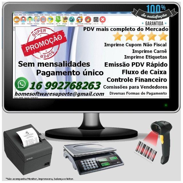 Frente de Caixa, Software PDV, Controle Estoque, Financeiro, Despesas - Manaus