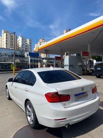 BMW 320i apenas 65.000 km branco pérola 2014 - Foto 11