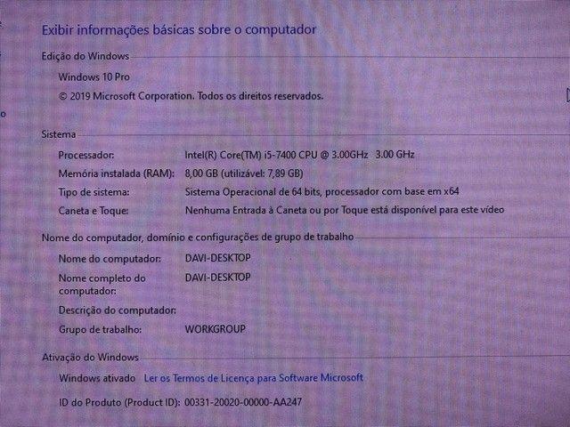 PC Desktop SSD 120 HD 500 8GB RAM - Foto 6