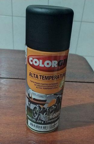 spray de Alta temperatura, na cor preta - Foto 3