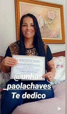 Curso Alongamento de Unhas com Paola Chaves - Aumente sua clientela! - Foto 5