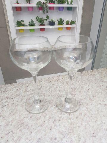 5 taças de vinho