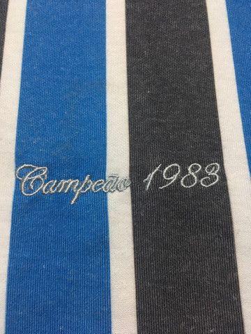 Camiseta retrô do Grêmio com ingresso  - Foto 4