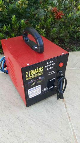 Carregador de bateria de carro e moto 150 Ampere - Foto 2
