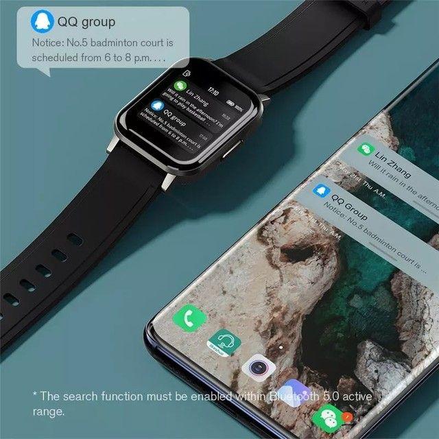 "Smartwatch Haylou LS02, Bluetooth 5.0, IP68, Tela 1.4"" LCD - Lançamento 2020? (Preto)<br><br> - Foto 5"