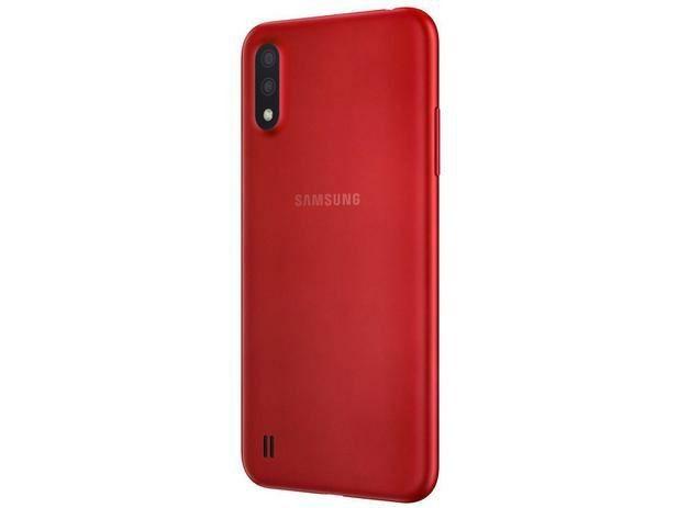 Smartphone Samsung Galaxy A01 32GB  NOVO - Foto 3