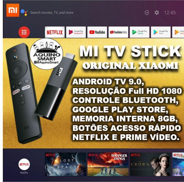 MI Tv Stick Lacrado C/ Garantia Versão Global Android TV Smart TV SmartTV - Foto 6