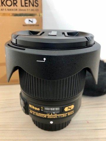 Lente Nikon 20 mm 1.8