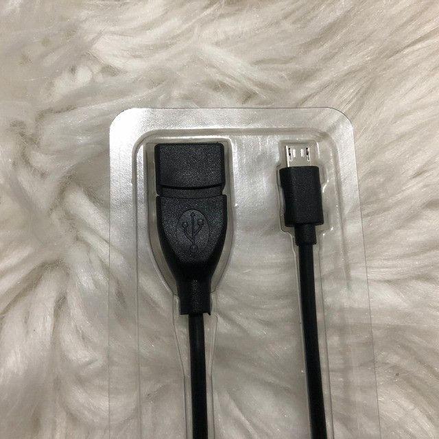 Adaptador OTG Micro USB / V8 - Foto 3