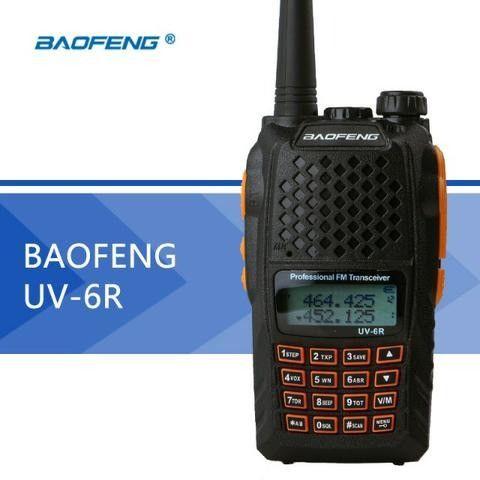 Rádio Ht Uv-6r Comunicador Baofeng Dual Band Uhf + Vhf 7w