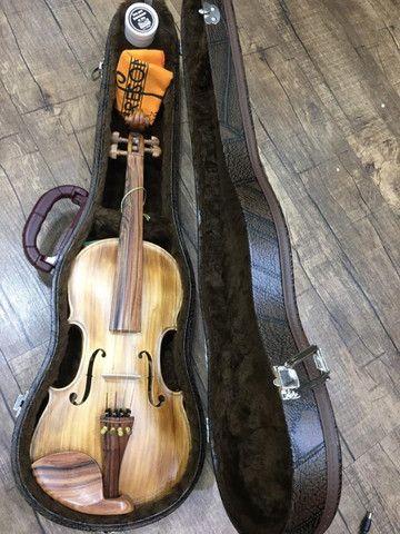 Violino 4/4 Nhureson Maestro Alegretto Profissional serie limitada araucaria premium Ccb - Foto 2