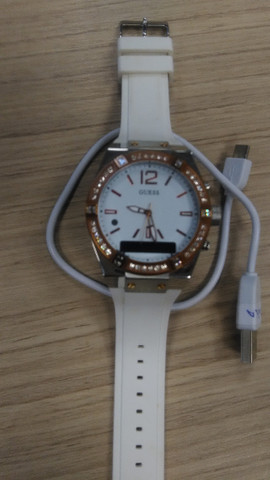 Guess Connect Bluetooth Hybrid Smartwatch Watch Read - Foto 4