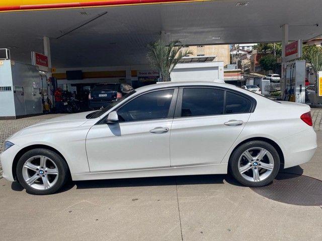 BMW 320i apenas 65.000 km branco pérola 2014 - Foto 14