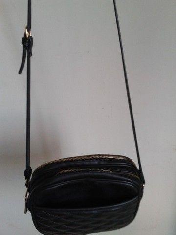 Bolsa preta feminina - Foto 4