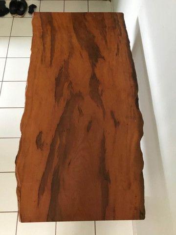 Mesa em madeira envernizada - Foto 6