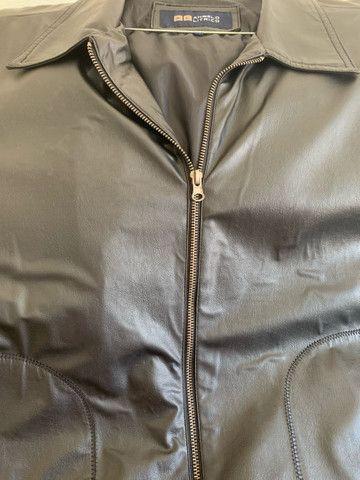 Jaqueta de couro masculina  - Foto 5